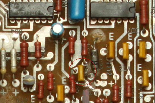 заменил транзистор на